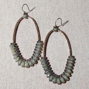 Jewelry - Natural Stone Dangle Earrings